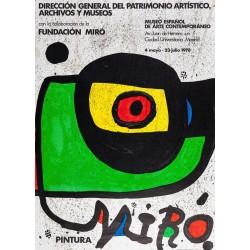 PINTURA MIRO. MADRID 1978