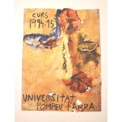 UNIVERSITAT POMPEU FABRA CURS 1994-95. MIQUEL BARCELO