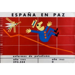ESPAÑA EN PAZ. ENFERMOS DE PALUDISMO