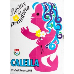 CALELLA. FIESTAS DE PROMAVERA 1968