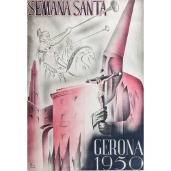 GERONA 1950. SEMANA SANTA