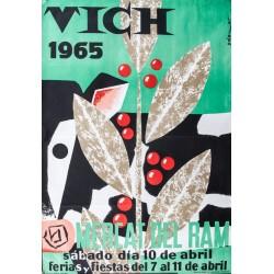 VICH 1965. MERCAT DEL RAM