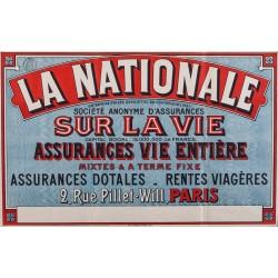 LA NATIONALE, ASSURANCES VIE ENTIERE