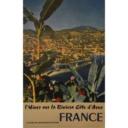 FRANCE. L'HIVER SUR LA RIVIERA COTE D'AZUR