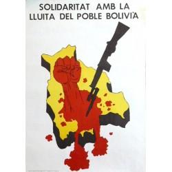 SOLIDARITAT AMB LA LLUITA DEL POBLE BOLIVIÀ
