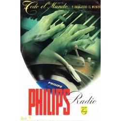 PHILIPS RADIO. TODO EL MUNDO...Y PARA TODO EL MUNDO