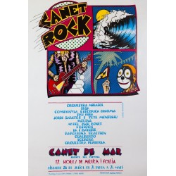CANET ROCK, 12 HORES DE MÚSICA I FOLLIA. 1975