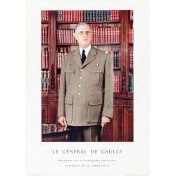 LE GENERAL DE GAULE. PRESIDENT DE LA REPUBLIQUE