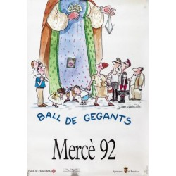 BALL DE GEGANTS. MERCE 92