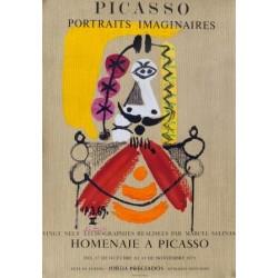 PICASSO PORTRAITS IMAGINAIRES. 1971