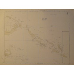 INDEX TO ADMIRALTY CHARTS OF TORRES STRAIT, BRISBANE, SYDNEY, ADELAIDE, FREMANTLE, BASS STRAIT AND TASMANIA