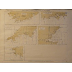 INDEX TO ADMIRALTY CHARTS OF PARTS OF ENGLAND, IRELAND AND FRANCE