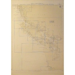 INDEX TO ADMIRALTY CHARTS OF LAREDO SOUND TO COLUMBIA RIVER