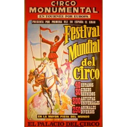CIRCO MONUMENTAL. FESTIVAL MUNDIAL DEL CIRCO. 1967