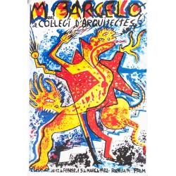 MIQUEL BARCELO AL COL.LEGI D'ARQUITECTES