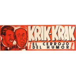 KRIK-KRAK ¡EL CERROJO DEL HUMOR!