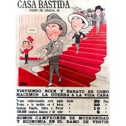 CASA BASTIDA PASEO DE GRACIA 18. VISTIENDO BIEN Y BARATO