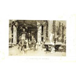 FORTUNY 1874. SEGUI, Sc. LA ELECCION DE LA MODELO