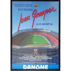 XVII TROFEU JOAN GAMPER 1982