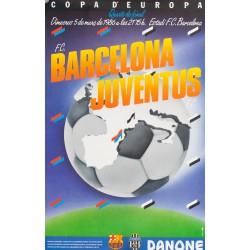 COPA D'EUROPA. F.C. BARCELONA - JUVENTUS