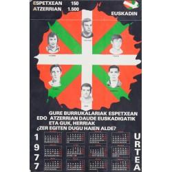 ESPETXEAN 150 - ATZERRIAN 1.500. EUSKADIN. 1977 URTEA
