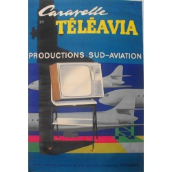 CARAVELLE TELEAVIA. PRODUCTIONS SUD-AVIATION