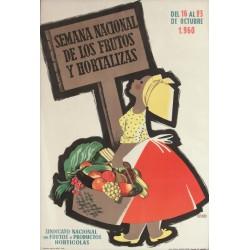 SEMANA NACIONAL DE FRUTOS Y HORTALIZAS