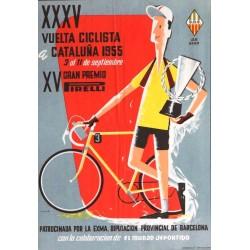 XXXV VUELTA CICLISTA A CATALUÑA 1955