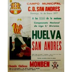 CAMPO MUNICIPAL SAN ANDRES. HUELVA SAN ANDRES 1977