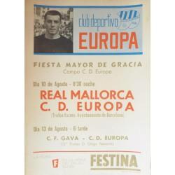 CLUB DEPORTIVO EUROPA. REAL MALLORCA - C.D. EUROPA