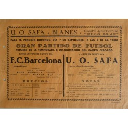 F.C. BARCELONA - U. O. SAFA