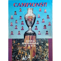 CAMPIONS!! COPA D'EUROPA 1992