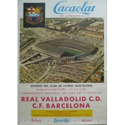 REAL VALLADOLID C.D. - BARCELONA F.C. 1962