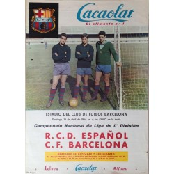 R.C.D. ESPAÑOL - F. C. BARCELONA 1964