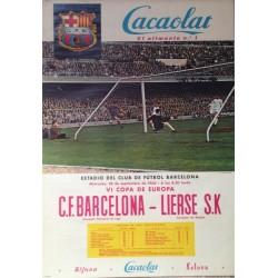 F.C. BARCELONA - LIERSE S.K. 1960. VI COPA DE EUROPA
