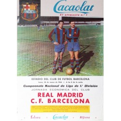 REAL MADRID C.F. - F. C. BARCELONA 1964