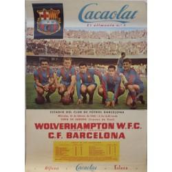 WOLVERHAMPTON W. F. C. - F.C. BARCELONA 1960. COPA DE EUROPA