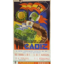 VIII TROFEO CARRANZA CADIZ. ZARAGOZA/BARCELONA/PEÑAROL/INTERNAZIONALE