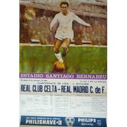 ESTADIO SANTIAGO BERNABEU. 1969. REAL CLUB CEITA - REAL MADRID C. DE F.