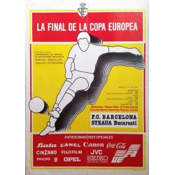 LA FINAL DE LA COPA EUROPEA F.C. BARCELONA - STEAUA BUCARESTI (UEFA)