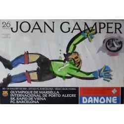 26 TROFEU JOAN GAMPER 1991.MARSELLA/PORTO ALEGRE/VIENA/BARCELONA