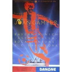 19 TROFEU JOAN GAMPER 1990. BAYERN/ASTON VILLA/BOCA JUNIORS/BARCELONA