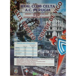 XXIX TROFEO CIUDAD DE VIGO. REAL CLUB CELTA-A.C. PERUGIA
