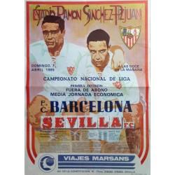 ESTADIO RAMON SANCHEZ PIZJUAN. F.C.BARCELONA - SEVILLA F.C.