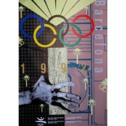 JUEGOS DE LA XXV OLIMPIADA BARCELONA 1992 -GAMES OF THE XXV OLYMPIAD. CALFONSO SOSTRES
