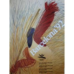 JUEGOS DE LA XXV OLIMPIADA BARCELONA 1992 -GAMES OF THE XXV OLYMPIAD. ENRIC HUGUET