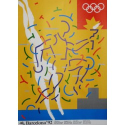 JUEGOS DE LA XXV OLIMPIADA BARCELONA 1992 -GAMES OF THE XXV OLYMPIAD. ALONSO / AYGUADE