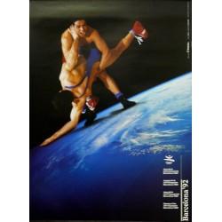 JUEGOS DE LA XXV OLIMPIADA BARCELONA 1992 -GAMES OF THE XXV OLYMPIAD. LUCHA LIBRE