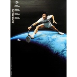 JUEGOS DE LA XXV OLIMPIADA BARCELONA 1992 -GAMES OF THE XXV OLYMPIAD. BADMINTON