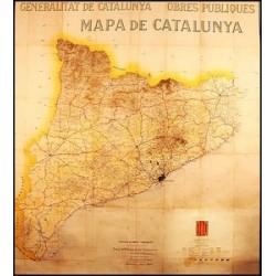 MAPA D'OBRES PÚBLIQUES DE CATALUNYA